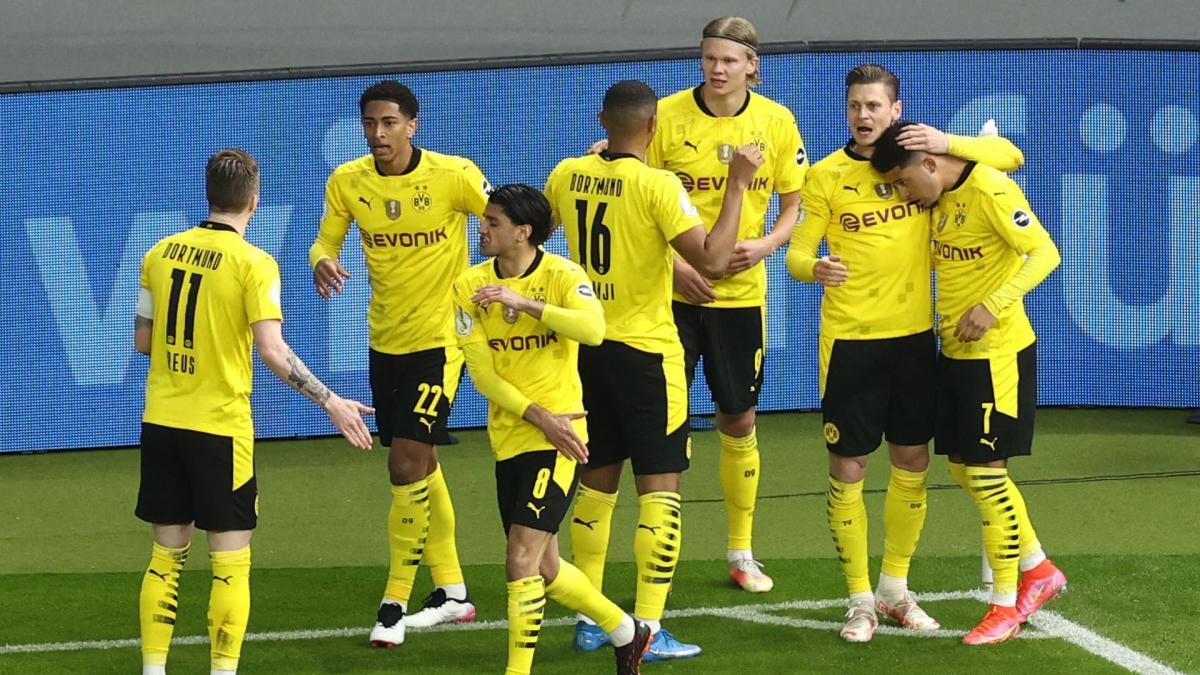 BVB ist DFB-Pokalsieger | Top-Noten für Sancho und Co.