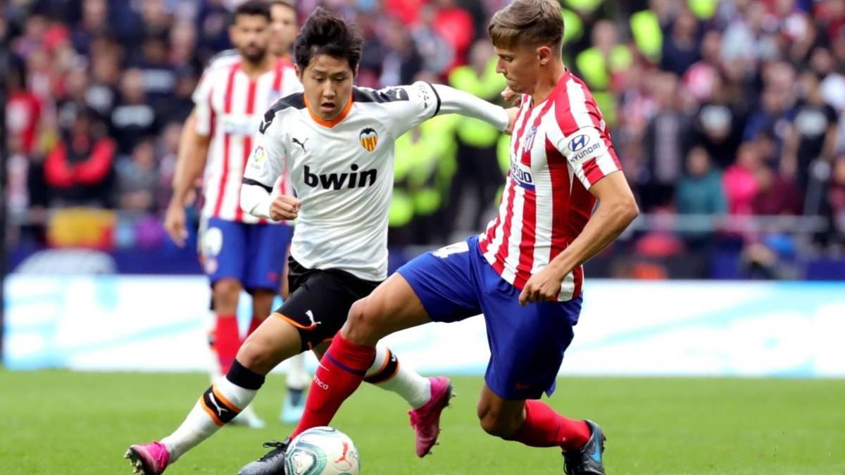 Marcos Llorente fühlt sich bei Atlético wohl