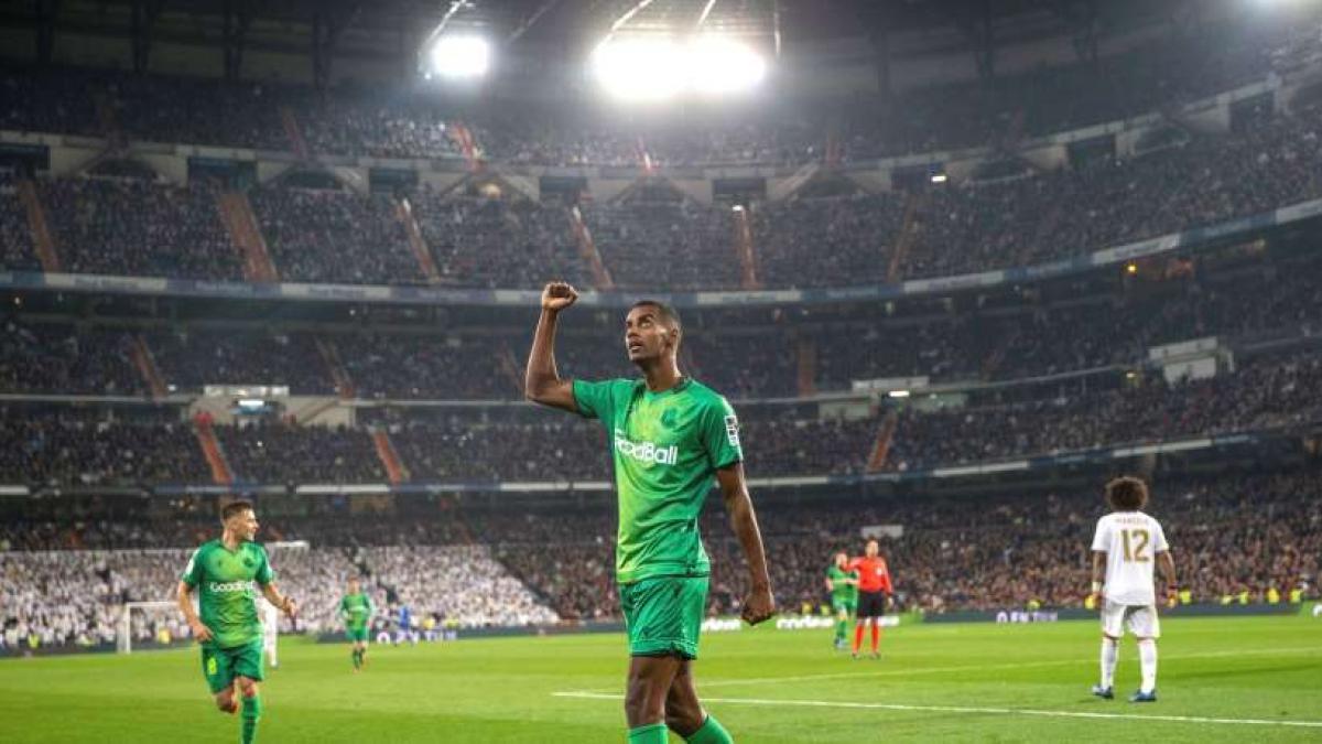 Alexander Isak eroberte gestern das Bernabéu