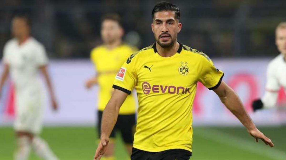 Emre Can bleibt langfristig in Dortmund