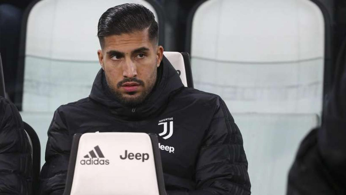 Emre Can sitzt bei Juventus in der Regel nur auf der Bank