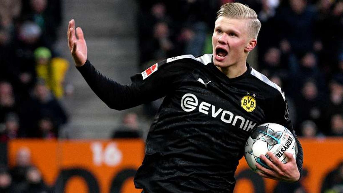 Erling Haaland gelang beim BVB-Debüt ein Hattrick