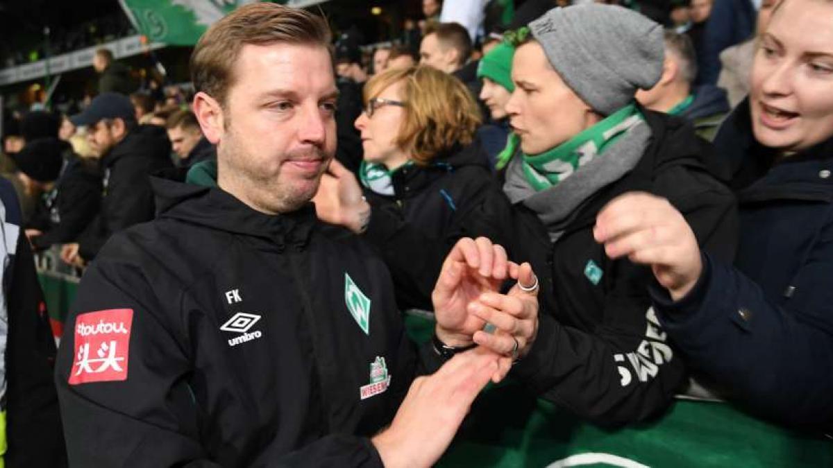 Florian Kohfeldt und seine Mannschaft entschuldigten sich bei den Fans