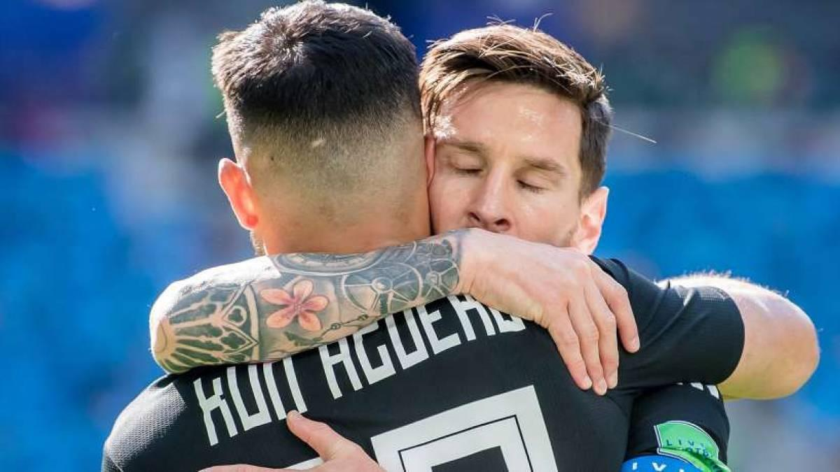 Messi will auch in Barcelona mit Agüero zusammenspielen