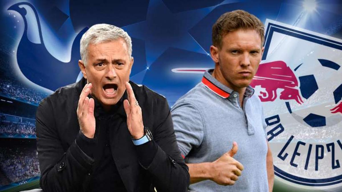 Mourinho (l.) und Nagelsmann treffen heute aufeinander