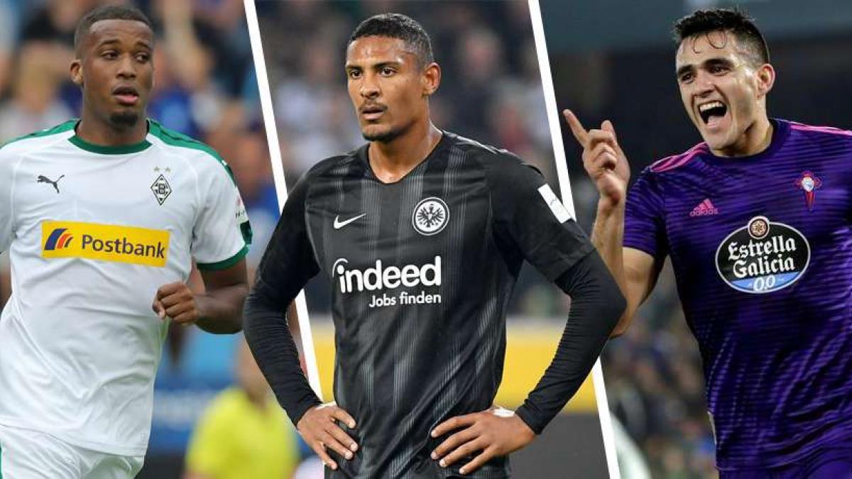 Pléa, Haller und Gómez könnten zum BVB passen