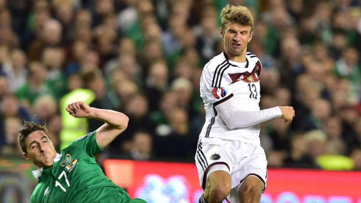 Spiel Irland Deutschland