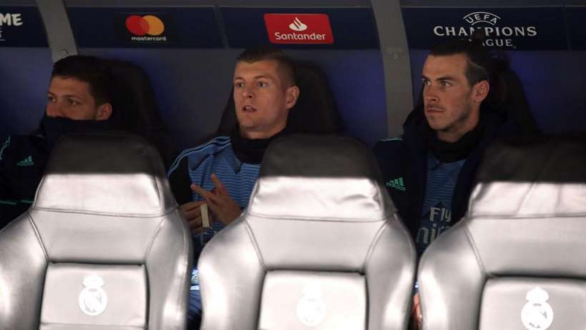Toni Kroos war gegen City nur Zuschauer