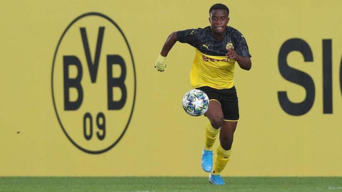 Youssoufa Moukoko ist das Aushängeschild der BVB-Jugend