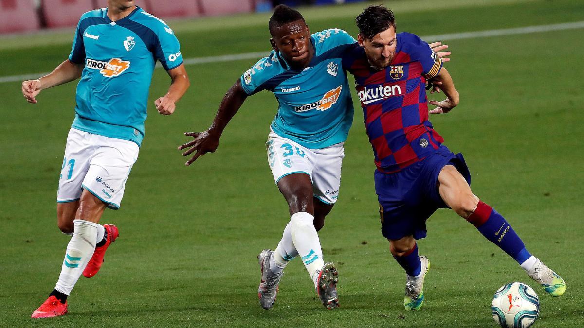 Barcelona Spiel Gestern