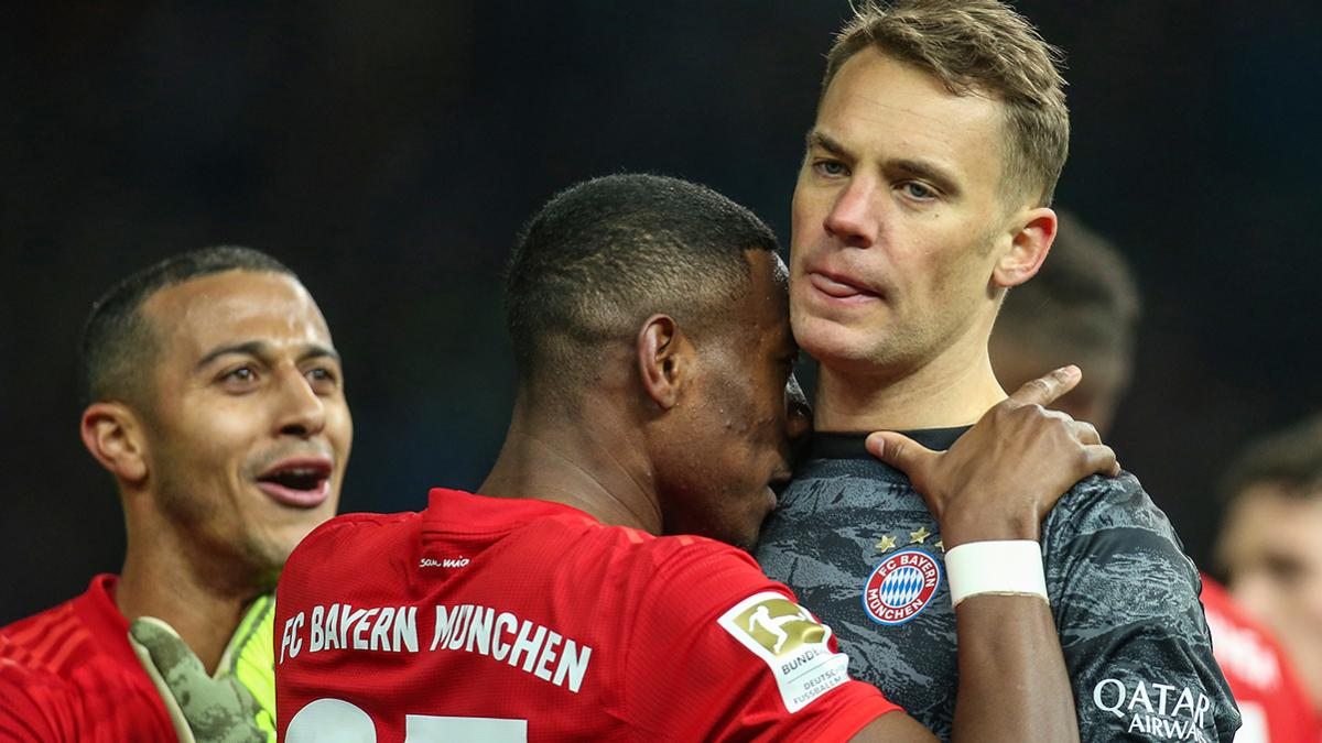 David Alaba und Manuel Neuer gewannen 2013 gemeinsam die Champions League