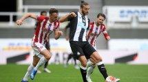 Doppel-Verlängerung bei Newcastle