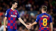 Tottenham klopft bei Barça-Duo an