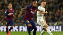 Vidal unterschreibt bei Inter Mailand
