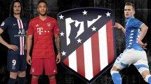 Atléticos Plan: Vier Neue im Sommer