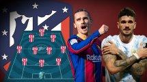 Griezmann-Rückkehr: Atlético mit Traumsturm in die neue Saison?