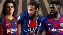 Barça: Die Strategien bei Griezmann, Neymar & Umtiti