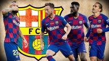 Barça stellt 15 Spieler ins Schaufenster