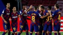 La Liga: Barça legt wieder vor