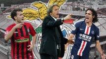 Stars aus den Topligen: Benficas neuer Kurs auf dem Transfermarkt