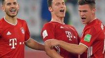 Bayern: Pavard zurück im Training