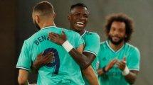 Real Madrid: Vinicius ohne Groll auf Benzema