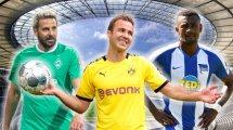 Pizarro, Götze & Co.: Diese Spieler verabschieden sich