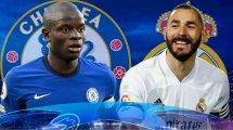 FC Chelsea - Real Madrid: So könnten sie spielen
