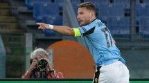 Corona: Lazio ohne vier gegen Brügge