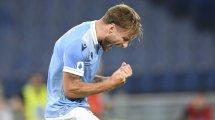 Immobile verlängert bei Lazio
