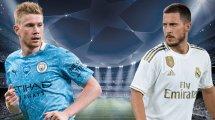 ManCity vs. Real Madrid: Die voraussichtlichen Aufstellungen