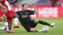 Ajax plant Verlängerung mit Blind