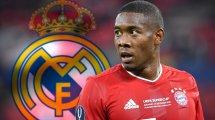 Alaba unterschreibt bei Real Madrid