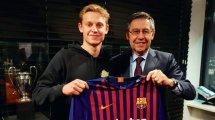 De Jong: Wie mich Barça überzeugte