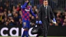 "Barça: Dembélé nur zum ""Goldpreis"""