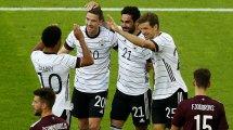 Scheibenschießen gegen Lettland | Top-Noten für die DFB-Stars
