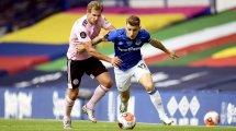 Everton: Zweikampf um Digne