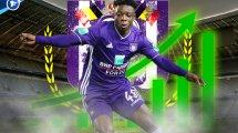 Anderlechts Lichtblick: Jérémy Doku empfiehlt sich für Höheres