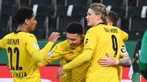 Borussia M'gladbach - Borussia Dortmund 0:1   Sancho entscheidet Pokalfight