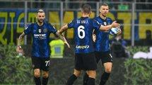 Dank Lukaku-Ersatz Dzeko: Inter weiter ungeschlagen