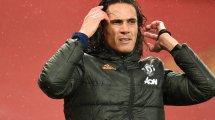 Boca bleibt an Cavani dran