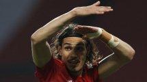 Nach EL-Gala: Bleibt Cavani bei United?