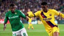 Barça trifft Entscheidung bei Emerson