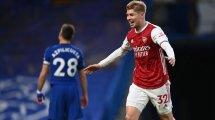 Arsenal lehnt 35-Millionen-Offerte für Smith Rowe ab