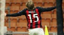 Milan lehnt Eintracht-Angebot für Hauge ab