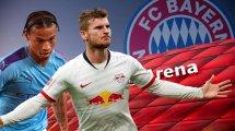 Sané oder Werner: Bayern legen sich fest