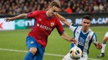 Zehn Millionen: ZSKA-Stürmer Chalov in die Bundesliga?