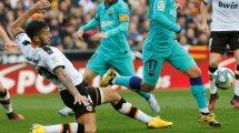 Wie Barça: Macht auch Valencia von der Sonderregel Gebrauch?