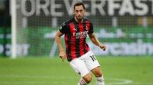 AC Milan: Der Stand bei Calhanoglu