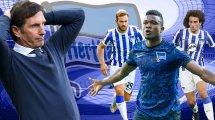 Transferzeugnis Hertha: Gute Ansätze mit viel Luft nach oben